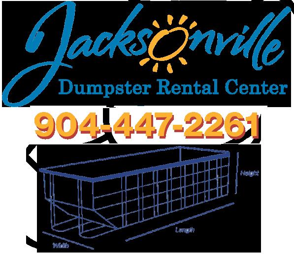 Jacksonville dumpster rental service